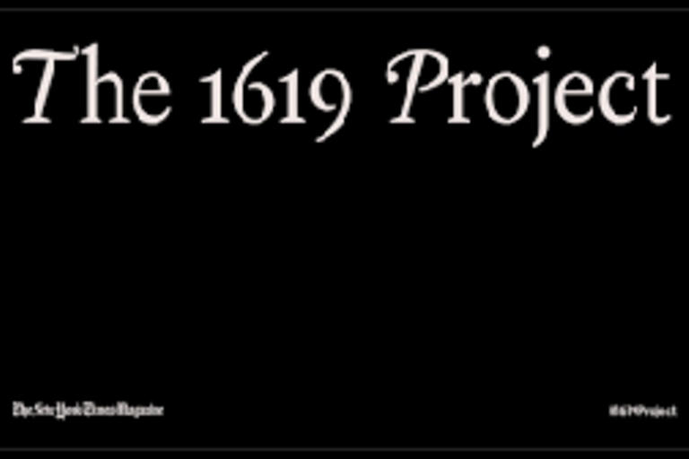 The New York Times Magazine launches the 1619 Project marking the 400th anniversary of the beginning of American slavery.