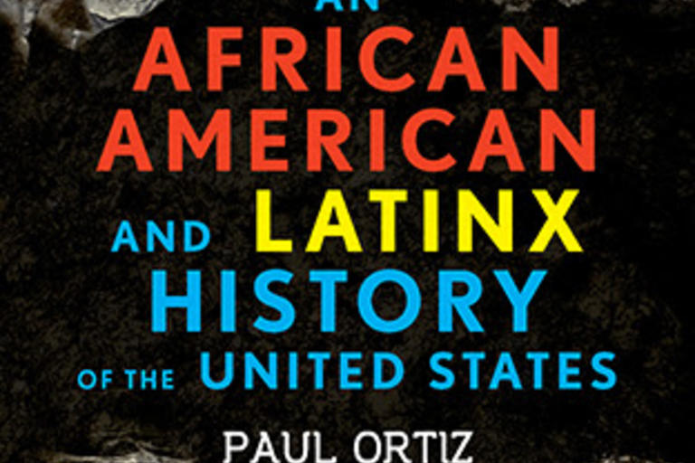 Book cover - The African American and Latinx History of the United States by Paul Ortiz