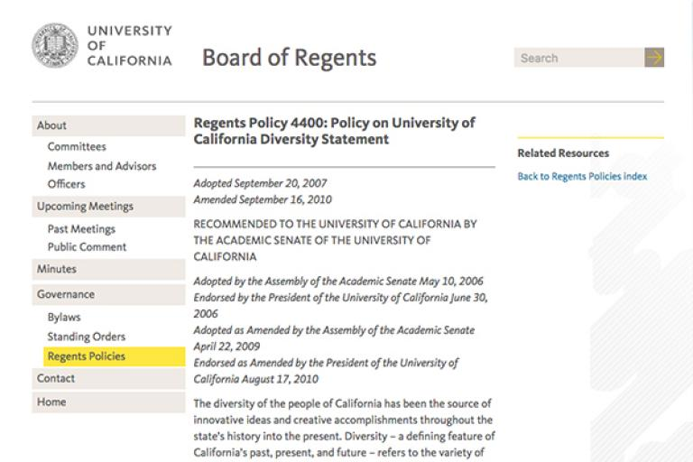 UC Board of Regents