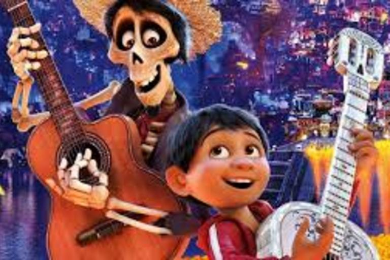 Coco - Animated Disney Film - Despite his family's generations-old ban on music, young Miguel dreams of becoming an accomplished musician like his idol Ernesto de la Cruz. Desperate to prove his talent, Miguel finds himself in the stunning and colorful La