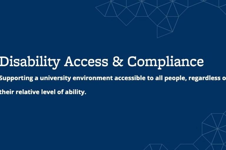 Disability Access and Compliance