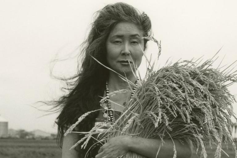 """In a photo essay for Vogue called """"The Memory Keepers,"""" Bridget Read spoke with women survivors of the Japanese internment, & their descendants who have become custodians of their family memories. Many have deep roots in CA agriculture."""