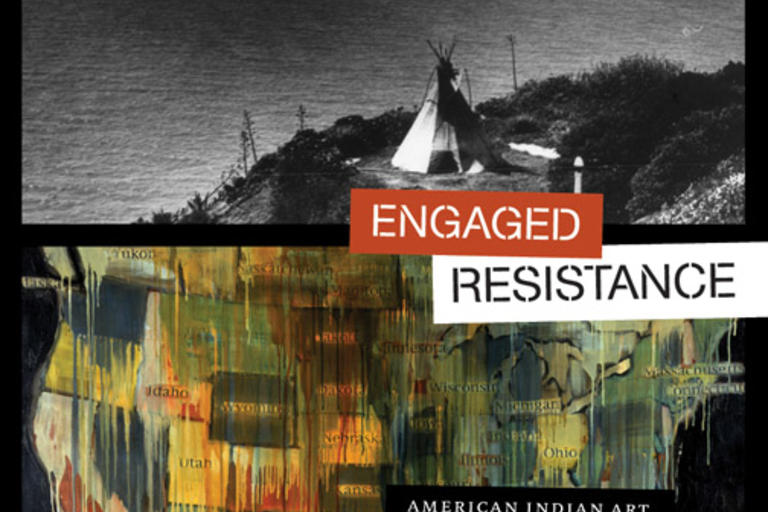 Engaged Resistance by Dean Rader focuses on how Native Americans have used artistic expression to both engage with and resist Anglo culture while asserting deeply held ethical values.