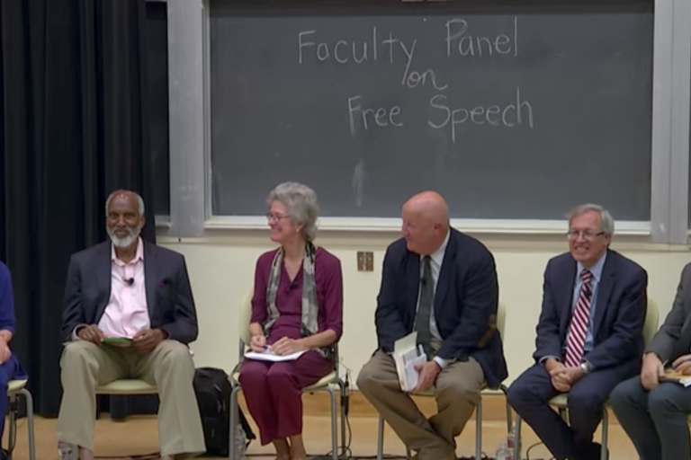 UC Berkeley Faculty Panel on Free Speech