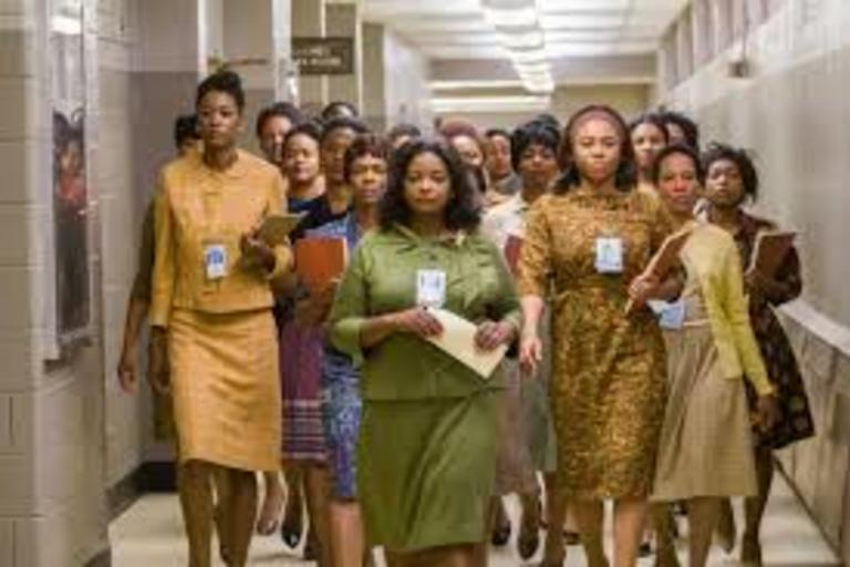 The movie Hidden Figures - a biographical drama based on the non-fiction book.