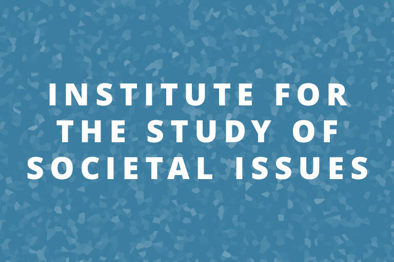 Institute for the Study of Societal Issues (ISSI)