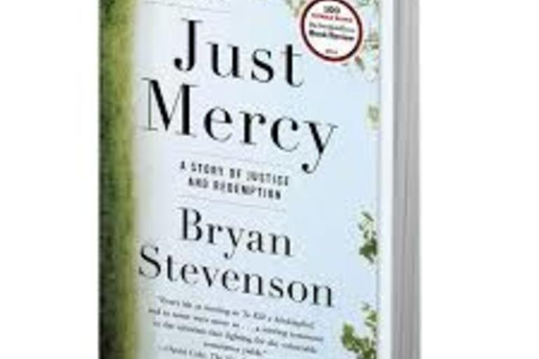 Just Mercy by Bryant Stevenson book cover.