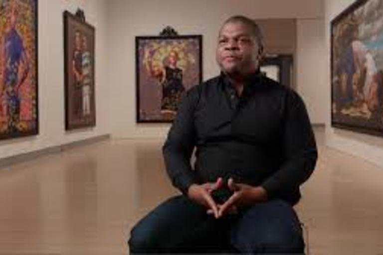 An interview with hip hop artist Kehinde Wiley, who was recently selected by former president Barack Obama to paint to official presidential portrait.