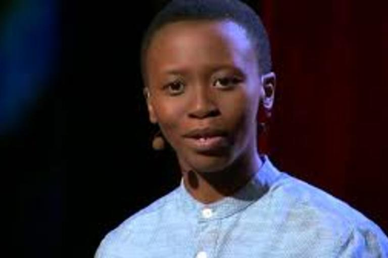 Ted Fellow Lee Mokobe presents her poem on what it's like to be transgender