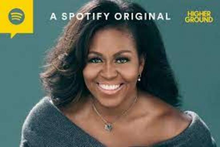 The Michelle Obama Podcast on Spotify .