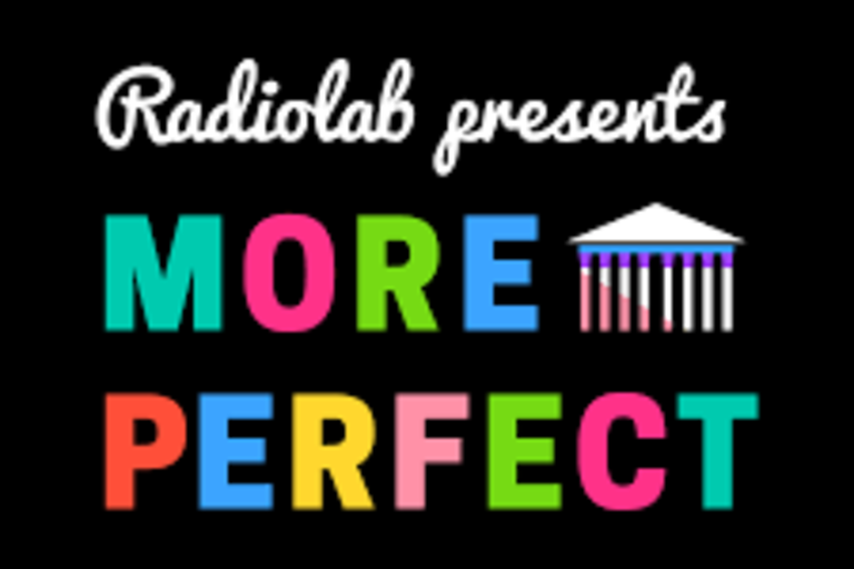 More Perfect (Podcast)  dives into the rarefied world of the Supreme Court to explain how cases deliberated inside hallowed halls affect lives far away from the bench.