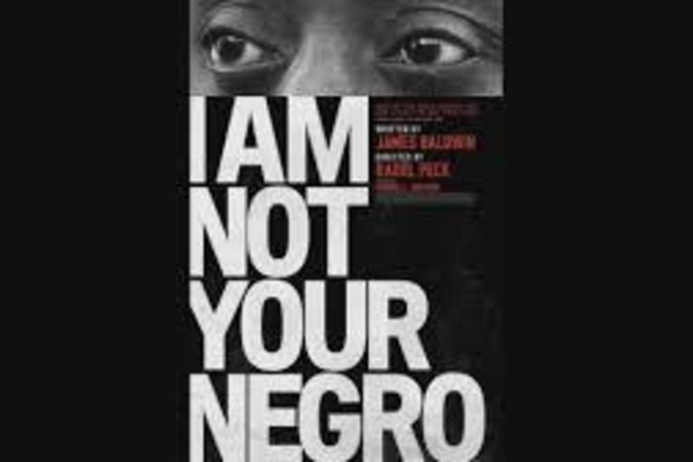 Poster for the documentary 'I Am Not Your Negro'