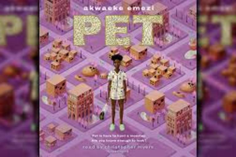 PET by Akwaeke Emezi. Young adult novel longlisted for the 2019 National Book Award.