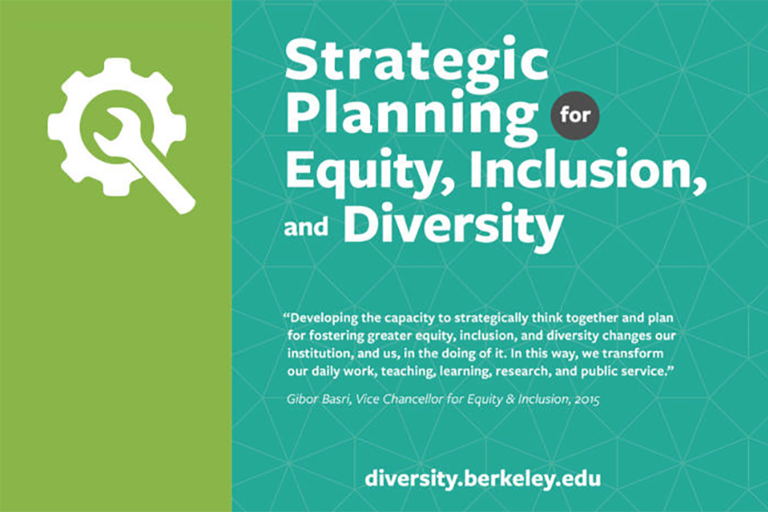 Strategic Planning for Equity, Inclusion, and Diversity - toolkit for faculty