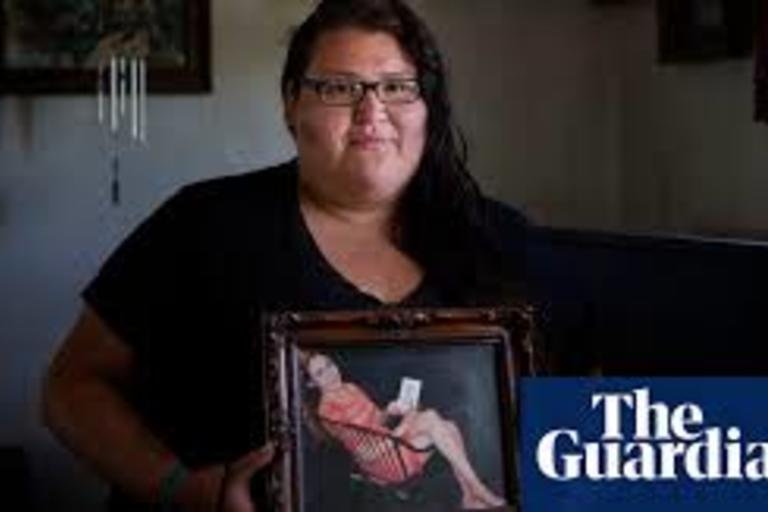 Searching for my sister: America's missing indigenous women. Reporter Kate Hodal investigates
