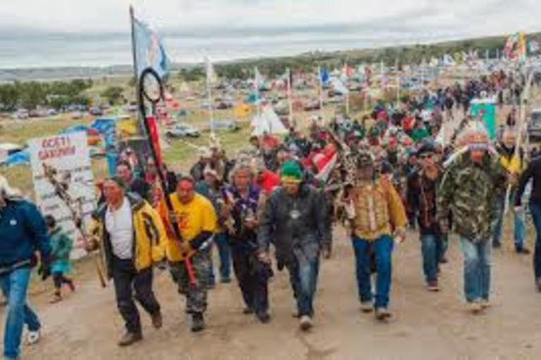 Trespassing on Your Own Land at Standing Rock - A story on Fusion about Standing Rock