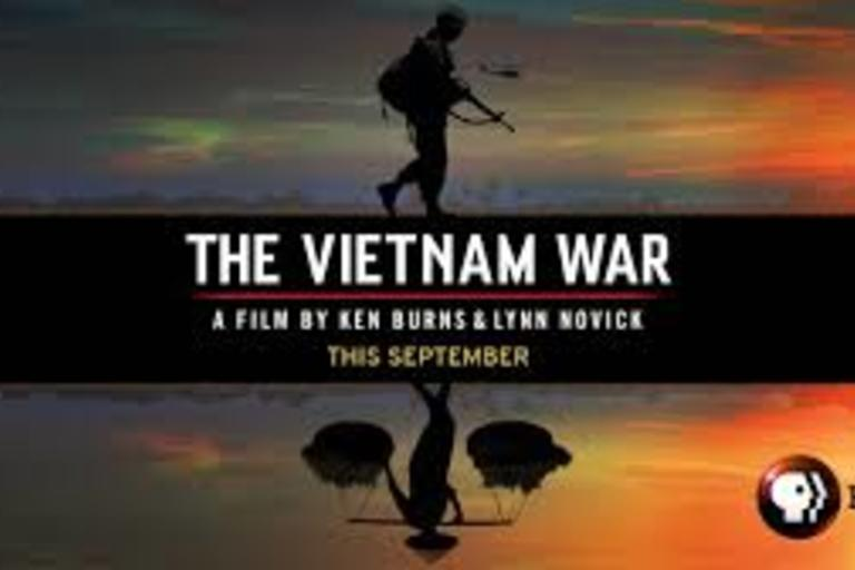 The Vietnam War - a ten-part, 18-hour documentary film series directed by Ken Burns and Lynn Novick