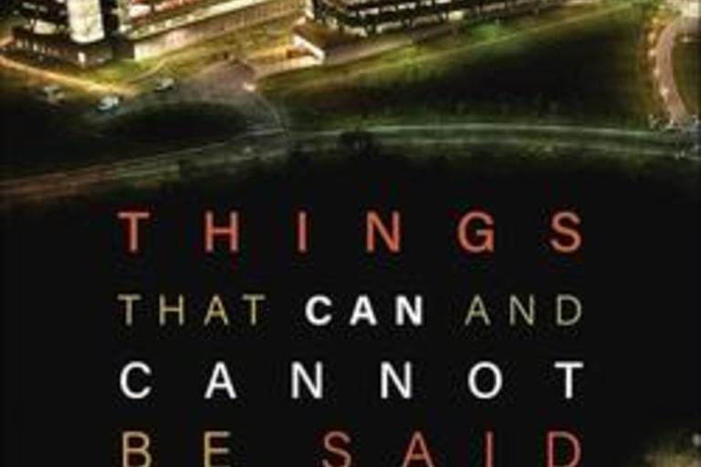 Things That Can and Cannot Be Said by John Cusack and Arundhati Roy