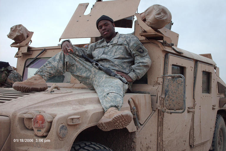 William Jackson is a Cal Vet and Media Studies major. On this Veteran's Day, he talks about his time in Iraq as part of the 101st Airborne and the firt thing he did when he got home.