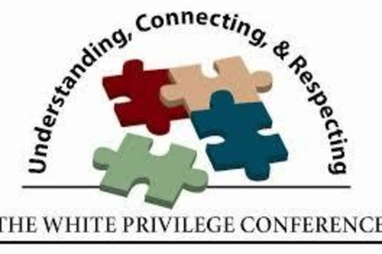 White Power and Privilege Conference logo.