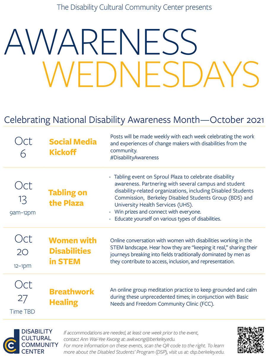 Awareness Wednesdays - Celebrating National Disability Awareness Month—