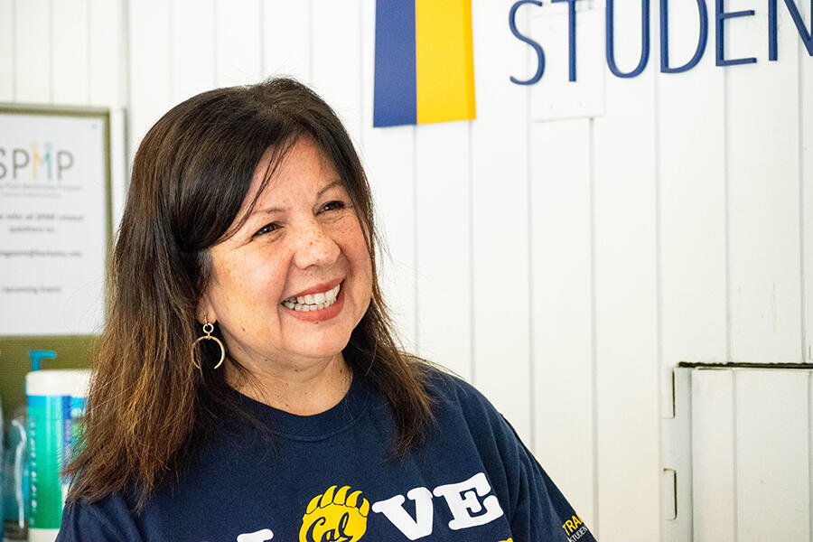 Lorena Valdez, director of Transfer Student Center