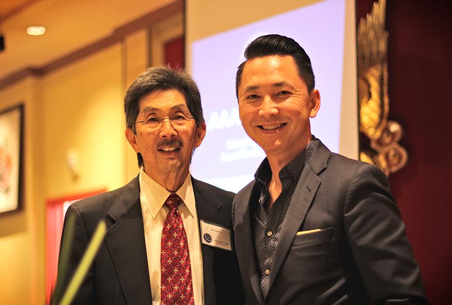 Jere Takashi and Viet Nguyen, author and Berkeley alumnus.