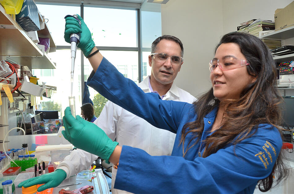 SEED Scholars Program - In the lab with Professor Jamie Cates