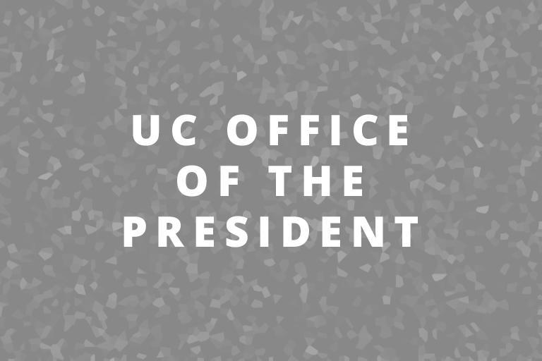 uc berkeley office of the president