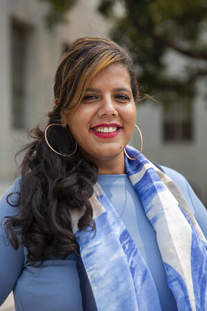 Vice Chancellor for Equity & Inclusion Dania Matos