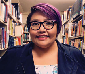 Melissa Stoner is the Native American Studies Librarian and the Ethnic Studies Library.