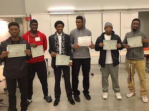UC Berkeley African American Male Pipeline Project Sumer 2017 Internship Participants.